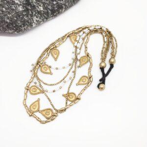 Collar Tika mostacilla