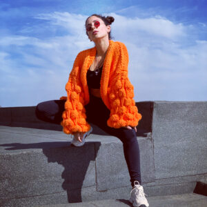 Berry Sweater Naranjo
