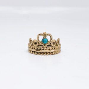 Anillo Heart Crown