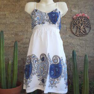 Vestido Mini Pasley Blanco