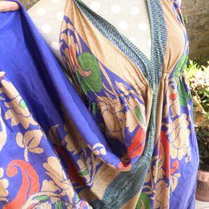 Vestido Seda D