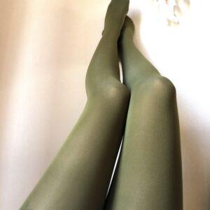 Pantys Verde Musgo Oscuro