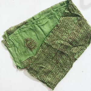Pañuelo Algodón Verde