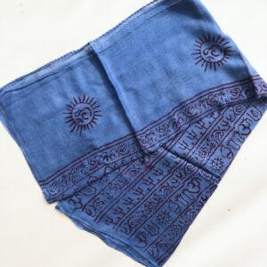 Pañuelo Algodón Azul