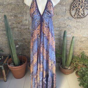 Vestido Seda Classic Veracruz