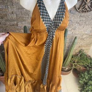 Vestido Seda Classic Aruba