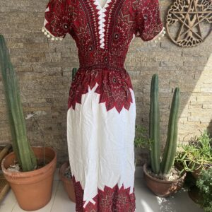 Vestido Pompom Allegra