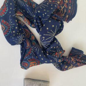 Pareo Mandala Azul 10