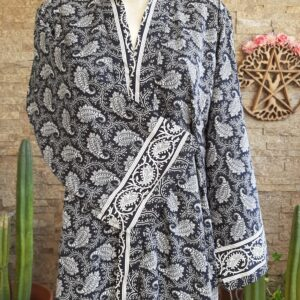 Kimono Seda Pasley Black