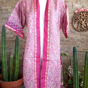 Kimono Seda Spiral Corto