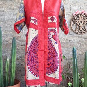 Kimono Seda Osaka Corto