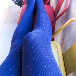 Pantys Azules con Puntitos