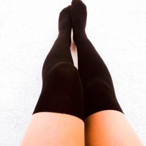 Pantys Efecto Media Color Piel-Negra